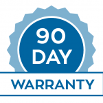 We offer a comprehensive 90 day warranty on our services
