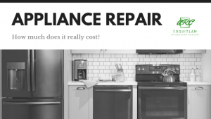 How much does it cost to fix a broken appliance?